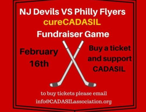cureCADASIL and the NJ Devils