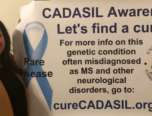 Barbara – Dedicated to CADASIL, awareness, research and THE cure!
