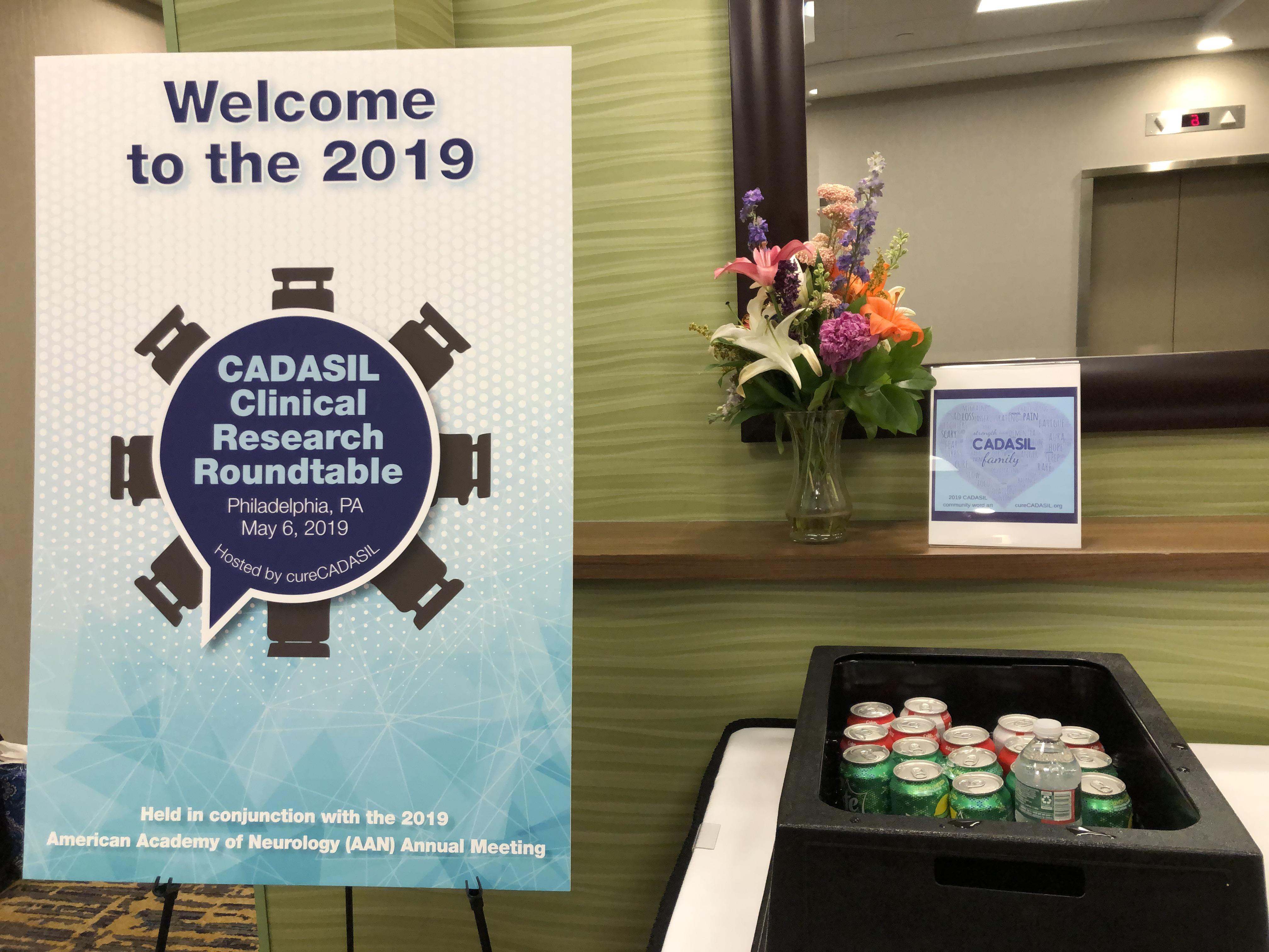 cureCADASIL Hosted the US Roundtable of CADASIL clinical