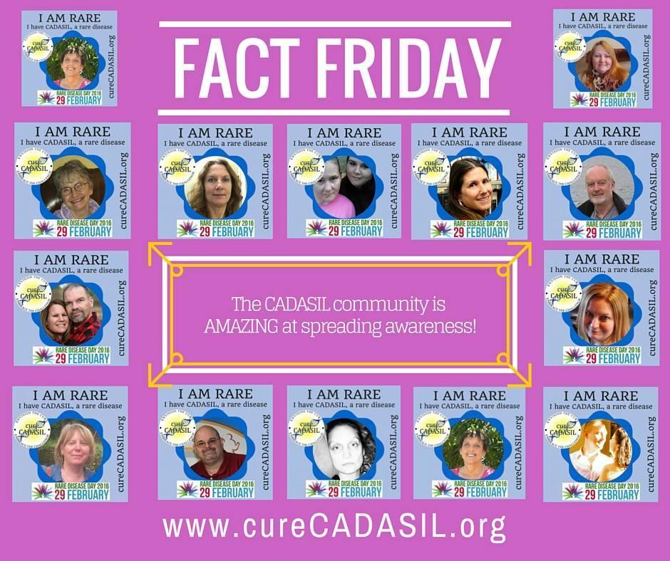 CADASIL Photo Frames Abound on Social Media for Rare Disease Day ...