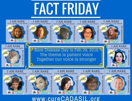 CADASIL Photo Frames Abound on Social Media for Rare Disease Day 2016