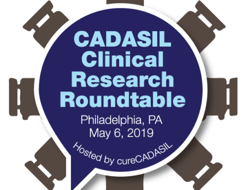 cureCADASIL Hosted the US Roundtable of CADASIL clinical researchers