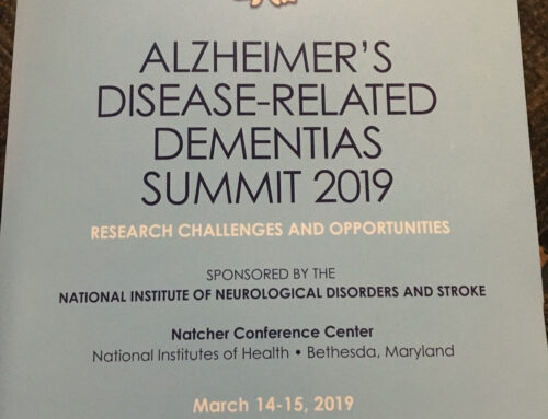 CADASIL advocacy at the 2019 Alzheimer's Disease-Related Dementias Summit